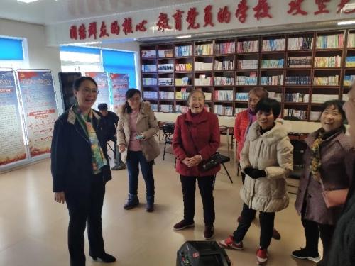 贾洪琳副市长深入基层检查调研养老服务工作