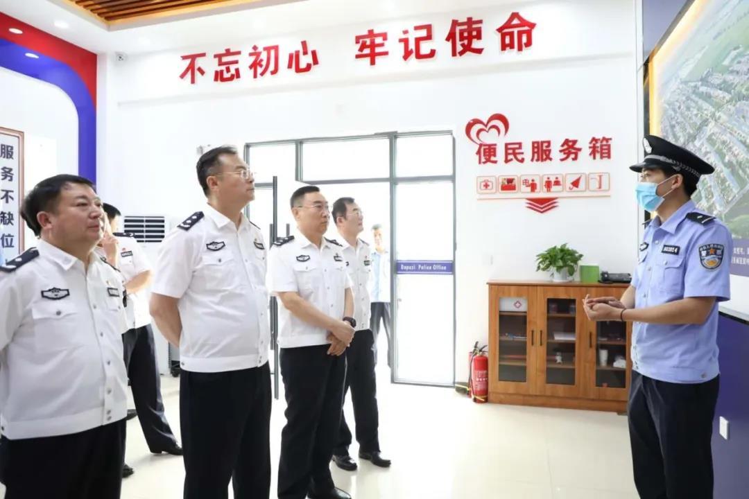 丹东市副市长、市公安局党委书记、局长孟炜率队到我市考察...