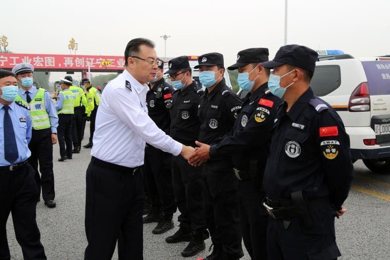 """申海青同志深入全市公安机关基层一线视察督导""""两节""""安保..."""